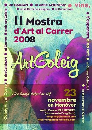 II Mostra d'Art al Carrer 2008