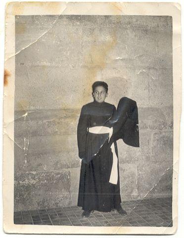 Vicent Payà vestit de la Soledad